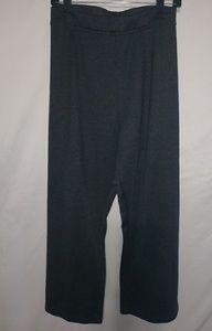 Gray Stretch Dress Pants 28W Petite Plus